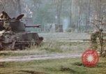 Image of U.S. tank firing at building Germany, 1945, second 47 stock footage video 65675076294