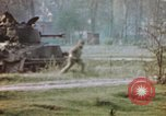 Image of U.S. tank firing at building Germany, 1945, second 48 stock footage video 65675076294