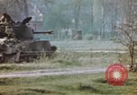 Image of U.S. tank firing at building Germany, 1945, second 49 stock footage video 65675076294