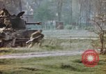 Image of U.S. tank firing at building Germany, 1945, second 50 stock footage video 65675076294
