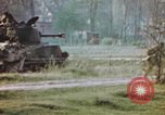 Image of U.S. tank firing at building Germany, 1945, second 51 stock footage video 65675076294