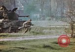 Image of U.S. tank firing at building Germany, 1945, second 52 stock footage video 65675076294