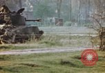 Image of U.S. tank firing at building Germany, 1945, second 53 stock footage video 65675076294