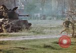 Image of U.S. tank firing at building Germany, 1945, second 55 stock footage video 65675076294