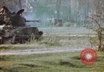 Image of U.S. tank firing at building Germany, 1945, second 57 stock footage video 65675076294