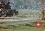Image of U.S. tank firing at building Germany, 1945, second 61 stock footage video 65675076294