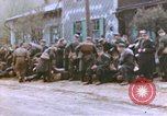 Image of American infantrymen Germany, 1945, second 34 stock footage video 65675076295