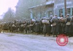 Image of American infantrymen Germany, 1945, second 51 stock footage video 65675076295