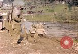 Image of United States  M4A3 sherman tanks Germany, 1945, second 1 stock footage video 65675076624