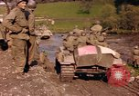 Image of United States  M4A3 sherman tanks Germany, 1945, second 14 stock footage video 65675076624