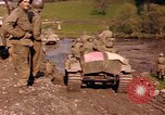 Image of United States  M4A3 sherman tanks Germany, 1945, second 15 stock footage video 65675076624