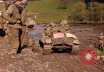 Image of United States  M4A3 sherman tanks Germany, 1945, second 16 stock footage video 65675076624