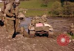 Image of United States  M4A3 sherman tanks Germany, 1945, second 17 stock footage video 65675076624