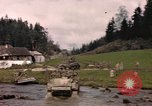 Image of United States  M4A3 sherman tanks Germany, 1945, second 59 stock footage video 65675076624