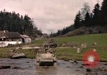 Image of United States  M4A3 sherman tanks Germany, 1945, second 60 stock footage video 65675076624