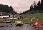 Image of United States  M4A3 sherman tanks Germany, 1945, second 61 stock footage video 65675076624