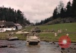 Image of United States  M4A3 sherman tanks Germany, 1945, second 62 stock footage video 65675076624