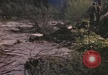 Image of U.S. troops ride on tanks crossing a stream Germany, 1945, second 23 stock footage video 65675076625