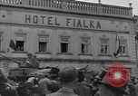 Image of 4th Armored Division Susice Czechoslovakia, 1945, second 3 stock footage video 65675076999