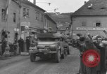 Image of 4th Armored Division Susice Czechoslovakia, 1945, second 18 stock footage video 65675076999