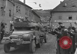 Image of 4th Armored Division Susice Czechoslovakia, 1945, second 19 stock footage video 65675076999