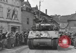 Image of 4th Armored Division Susice Czechoslovakia, 1945, second 23 stock footage video 65675076999