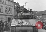 Image of 4th Armored Division Susice Czechoslovakia, 1945, second 25 stock footage video 65675076999