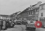 Image of 4th Armored Division Susice Czechoslovakia, 1945, second 30 stock footage video 65675076999