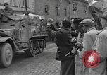 Image of 4th Armored Division Susice Czechoslovakia, 1945, second 33 stock footage video 65675076999