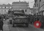 Image of 4th Armored Division Susice Czechoslovakia, 1945, second 37 stock footage video 65675076999