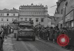 Image of 4th Armored Division Susice Czechoslovakia, 1945, second 38 stock footage video 65675076999