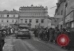 Image of 4th Armored Division Susice Czechoslovakia, 1945, second 39 stock footage video 65675076999
