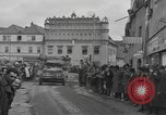 Image of 4th Armored Division Susice Czechoslovakia, 1945, second 40 stock footage video 65675076999