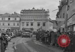 Image of 4th Armored Division Susice Czechoslovakia, 1945, second 42 stock footage video 65675076999