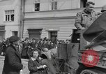 Image of 4th Armored Division Susice Czechoslovakia, 1945, second 50 stock footage video 65675076999