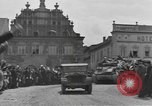Image of 4th Armored Division Susice Czechoslovakia, 1945, second 59 stock footage video 65675076999