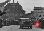 Image of 4th Armored Division Susice Czechoslovakia, 1945, second 60 stock footage video 65675076999