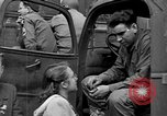 Image of US 16th Armored Division in Pilsen Czechoslovakia Pilsen Czechoslovakia, 1945, second 5 stock footage video 65675077026