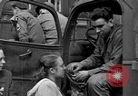Image of US 16th Armored Division in Pilsen Czechoslovakia Pilsen Czechoslovakia, 1945, second 7 stock footage video 65675077026