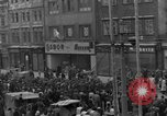 Image of US 16th Armored Division in Pilsen Czechoslovakia Pilsen Czechoslovakia, 1945, second 10 stock footage video 65675077026
