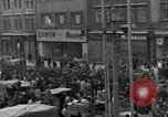 Image of US 16th Armored Division in Pilsen Czechoslovakia Pilsen Czechoslovakia, 1945, second 14 stock footage video 65675077026
