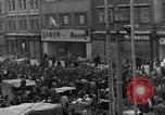Image of US 16th Armored Division in Pilsen Czechoslovakia Pilsen Czechoslovakia, 1945, second 16 stock footage video 65675077026