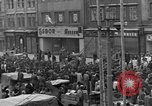 Image of US 16th Armored Division in Pilsen Czechoslovakia Pilsen Czechoslovakia, 1945, second 19 stock footage video 65675077026