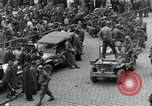Image of US 16th Armored Division in Pilsen Czechoslovakia Pilsen Czechoslovakia, 1945, second 20 stock footage video 65675077026