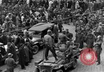 Image of US 16th Armored Division in Pilsen Czechoslovakia Pilsen Czechoslovakia, 1945, second 23 stock footage video 65675077026