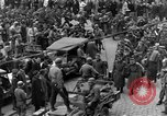 Image of US 16th Armored Division in Pilsen Czechoslovakia Pilsen Czechoslovakia, 1945, second 24 stock footage video 65675077026