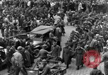 Image of US 16th Armored Division in Pilsen Czechoslovakia Pilsen Czechoslovakia, 1945, second 25 stock footage video 65675077026