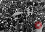Image of US 16th Armored Division in Pilsen Czechoslovakia Pilsen Czechoslovakia, 1945, second 26 stock footage video 65675077026