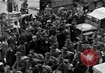 Image of US 16th Armored Division in Pilsen Czechoslovakia Pilsen Czechoslovakia, 1945, second 27 stock footage video 65675077026