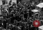 Image of US 16th Armored Division in Pilsen Czechoslovakia Pilsen Czechoslovakia, 1945, second 29 stock footage video 65675077026